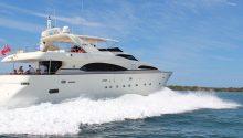 Lady Pamela Boat cruising