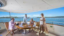 Lady Pamela Boat rear deck