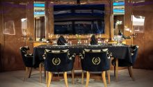 Lady Pamela Boat dining table