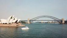 Lady Pamela cruising Sydney Harbour