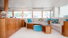 Oscar 2 yacht interior