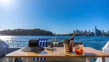 Sunseeker rear deck table