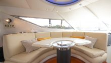 Sunseeker yacht interior