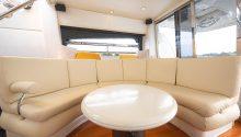 Sunseeker boat lounge