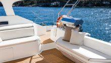 Wanderlust boat rear deck