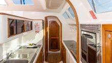 Wanderlust boat kitchen