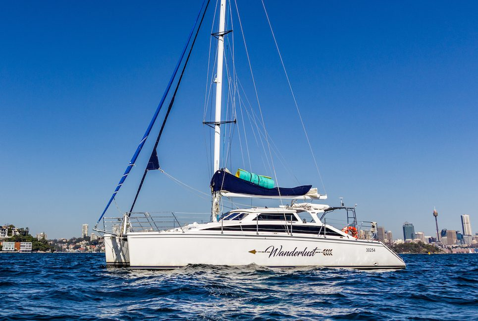 Wanderlust boat Sydney
