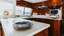Onsite yacht Galley