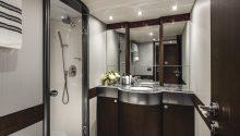 Privacy yacht bathroom