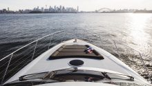 Privacy yacht sydney front deck