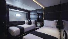 One O One yacht Sydney cabin
