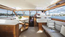 Felix boat interior
