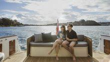 Felix yacht sydney rear deck